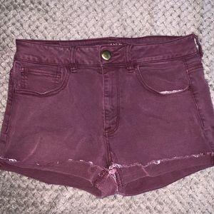 AMERICAN EAGLE SUPER STRECH SHORTS